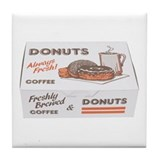 Some Donuts On Your Tile Coaster