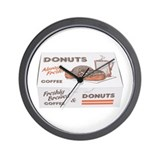Some Donuts On Your Wall Clock