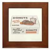 Some Donuts On Your Framed Tile