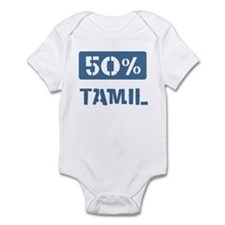 50 Percent Tamil Infant Bodysuit