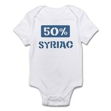 50 Percent Syriac Infant Bodysuit