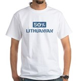 50 Percent Lithuanian Shirt