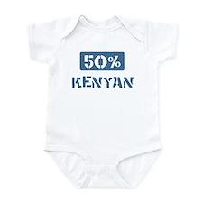 50 Percent Kenyan Infant Bodysuit
