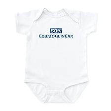 50 Percent Equatoguinean Infant Bodysuit