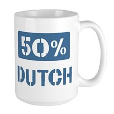 50 Percent Dutch Mug
