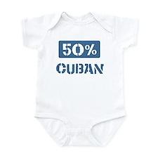 50 Percent Cuban Infant Bodysuit