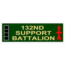 HHC, 132nd Support Bn <BR>CWO4 Bumper Bumper Sticker