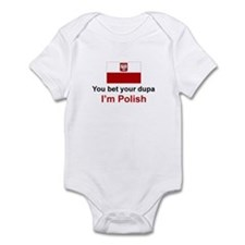Polish Dupa Infant Bodysuit