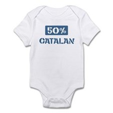 50 Percent Catalan Infant Bodysuit