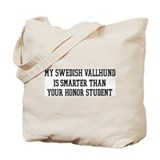 Smart My Swedish Vallhund Tote Bag