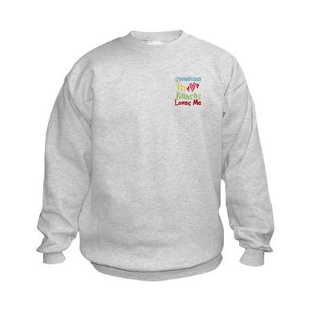 Someone in Kansas Loves Me Kids Sweatshirt