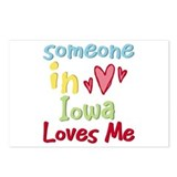 Someone in Iowa Loves Me Postcards (Package of 8)