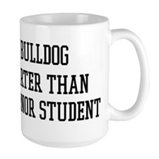 Smart My Bulldog Mug