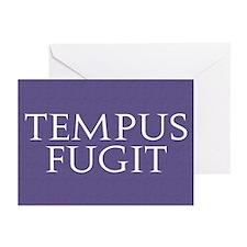 Tempus Fugit Greeting Cards (Pk of 10)