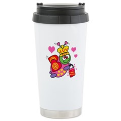 LUV BUG Ceramic Travel Mug