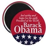 Best Wishes President Obama Magnet