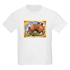 Armadillo Texas Howdy T-Shirt