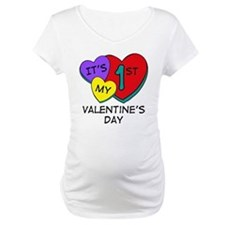 1st Valentine's Day Hearts Shirt