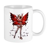 Butterfly Kisses Ruby Mug