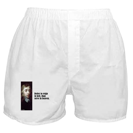 "Milton ""Better To Reign"" Boxer Shorts"