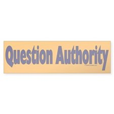 Question Authority Bumper Sticker (50 pk)