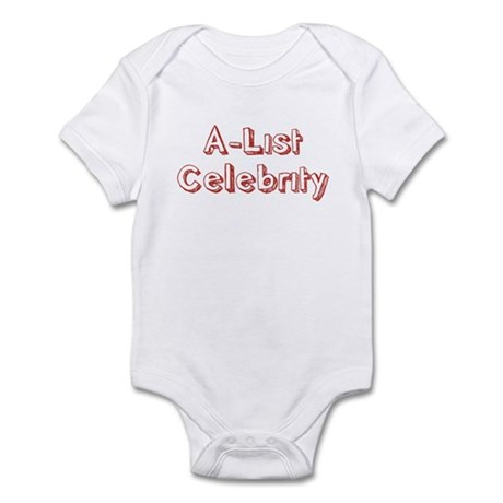 A-List Celebrity Infant Bodysuit