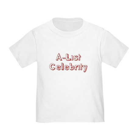 A-List Celebrity Toddler T-Shirt