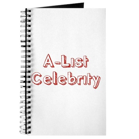 A-List Celebrity Journal