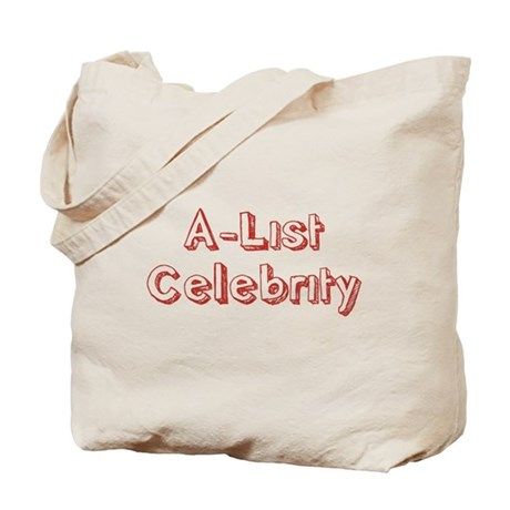 A-List Celebrity Tote Bag