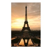 Eiffel Tower Sunset Paris Postcards (Package of 8)