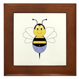 BeeBee Bumble Bee Framed Tile
