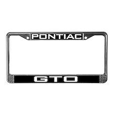 Pontiac GTO License Plate Frame
