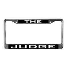 The Judge License Plate Frame