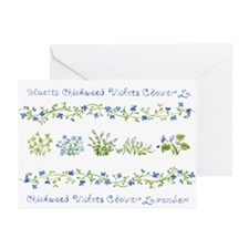 Bluetts Greeting Cards (Pk of 20)