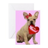 Bulldog cards Greeting Cards (10 Pack)
