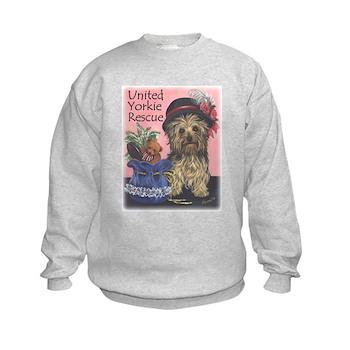 United Yorkie Rescue Kids Sweatshirt