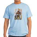 Japanese Samurai Warrior Yoshiaki Light T-Shirt