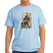 Japanese Samurai Warrior Yoshiaki T-Shirt