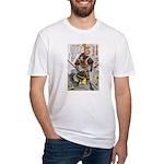 Japanese Samurai Warrior Yoshiaki Fitted T-Shirt