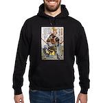 Japanese Samurai Warrior Yoshiaki (Front) Hoodie (