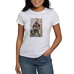 Japanese Samurai Warrior Yoshiaki Women's T-Shirt