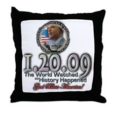 The World Watched... Throw Pillow