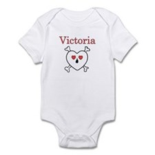 Victoria - Love Pirate Infant Bodysuit