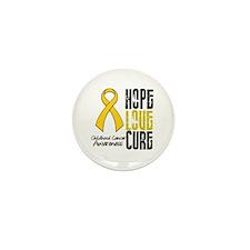 ChildhoodCancerHope Mini Button (10 pack)