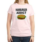 HAMBURGER ADDICT Women's Light T-Shirt