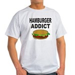 HAMBURGER ADDICT Light T-Shirt