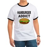 HAMBURGER ADDICT Ringer T