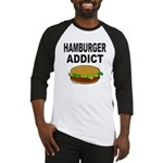 HAMBURGER ADDICT Baseball Jersey