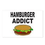 HAMBURGER ADDICT Postcards (Package of 8)