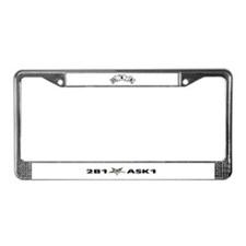 Cute Oes eastern star License Plate Frame
